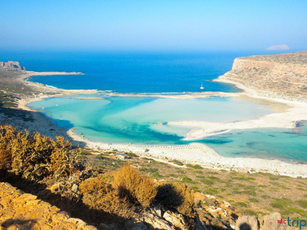 Balos Beach: the lagoon, one of the best beaches of Crete ...