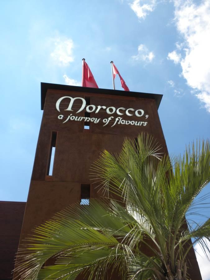 padiglione marocco