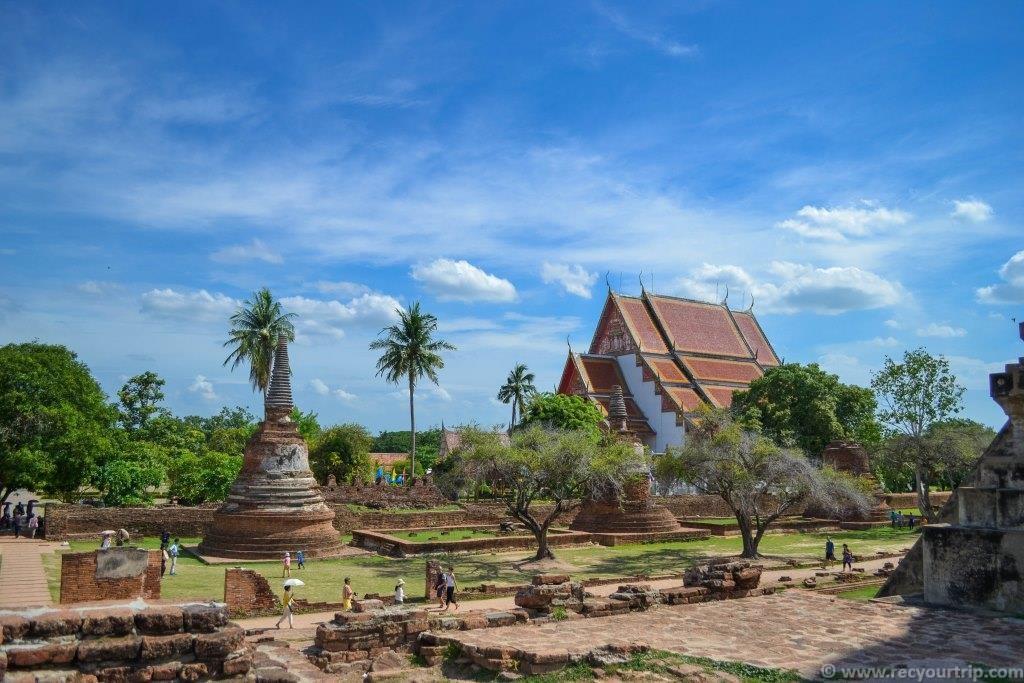 ayutthaya treno da bangkok