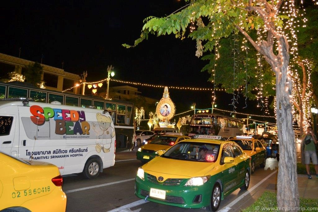 prendere taxi bangkok