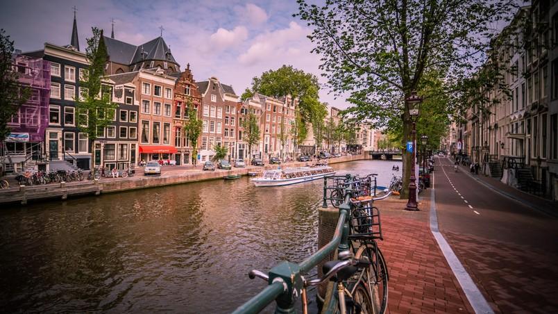 amsterdam night sun nice place weekend holland olanda #traveldreams2016