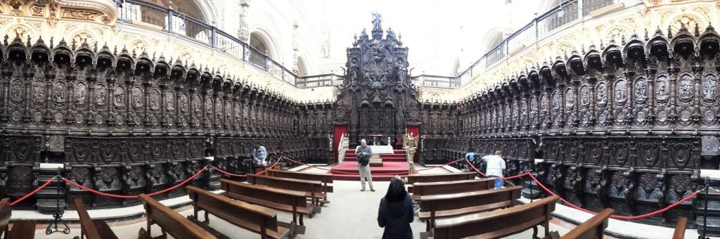 coro mezquita cattedrale cordoba