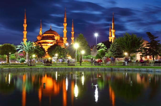istanbul night notte sera moschea #traveldreams2016
