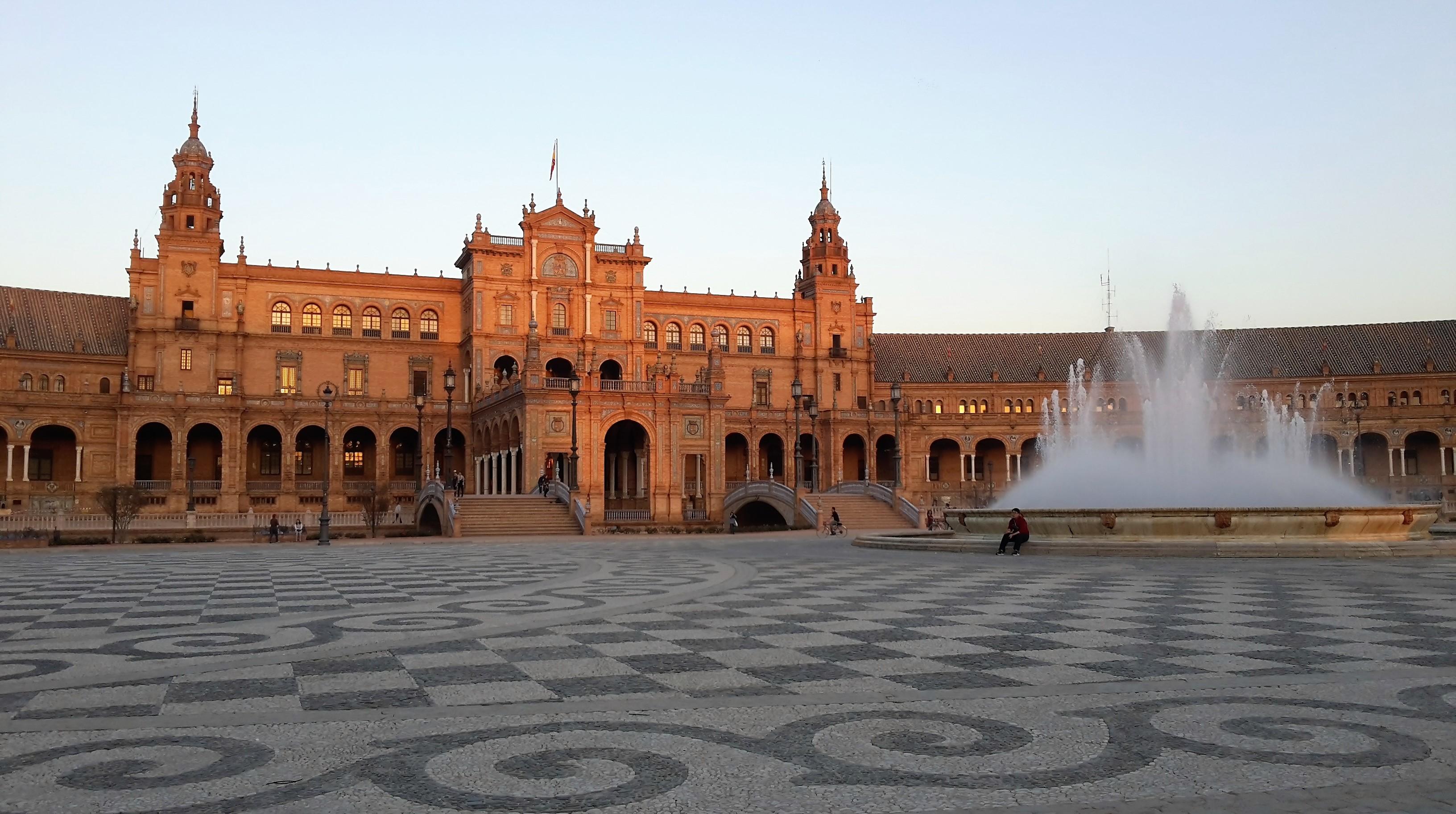 plaza espagna siviglia