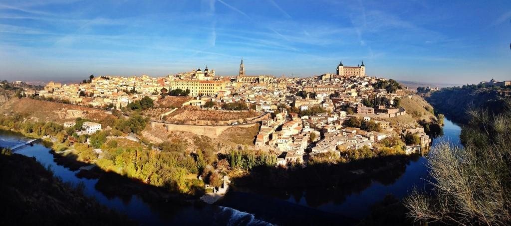 toledo panorama spagna espana panoramica