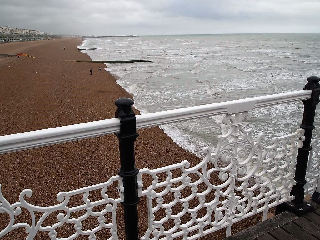 spiaggia brighton COSA VEDERE