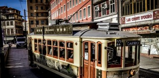 portogallo vecchio tram old trame 1 22 porto