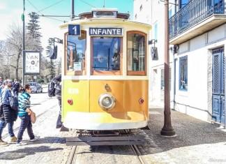 porto due giorni vicoletti oceano vecchio tram 1ribeira tram vecchio