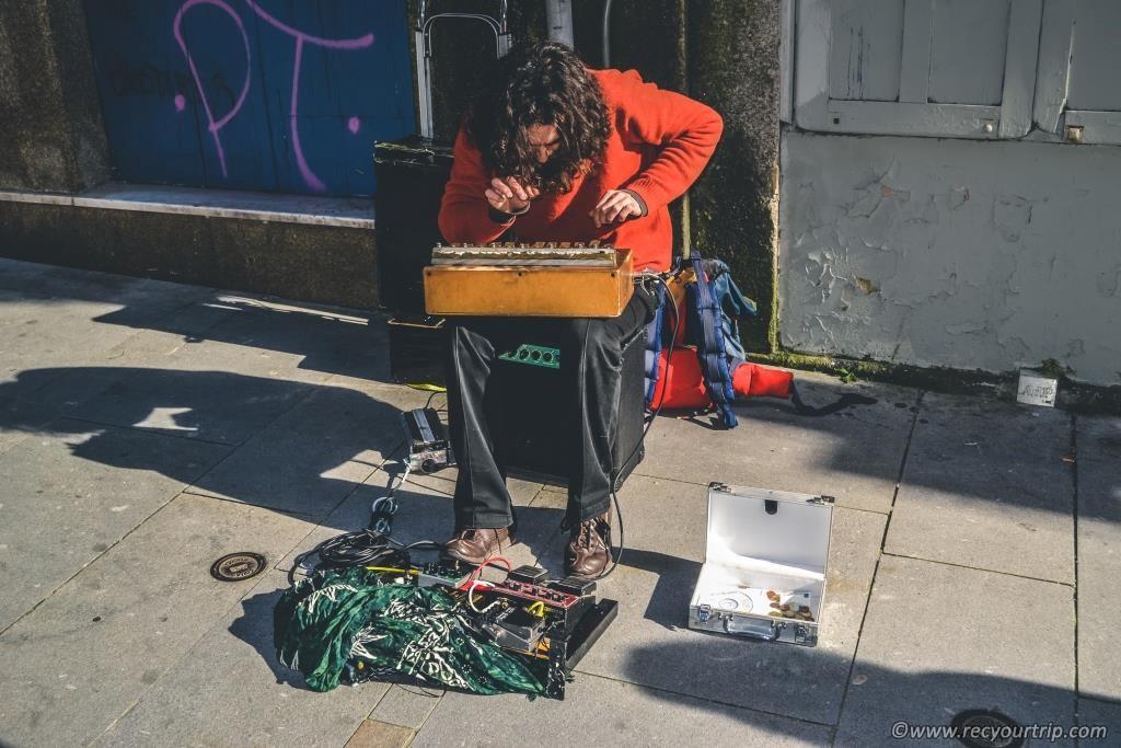 artisti di strada porto turismo