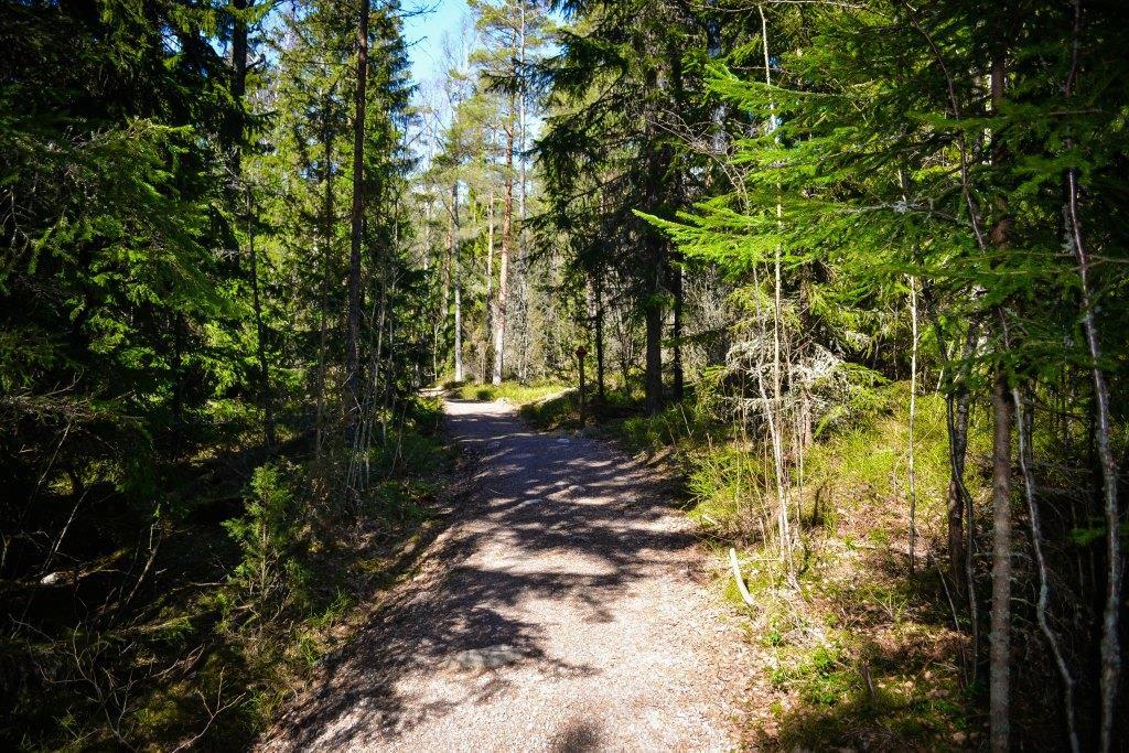 nuuksio national park escursione hiking natura finlandia