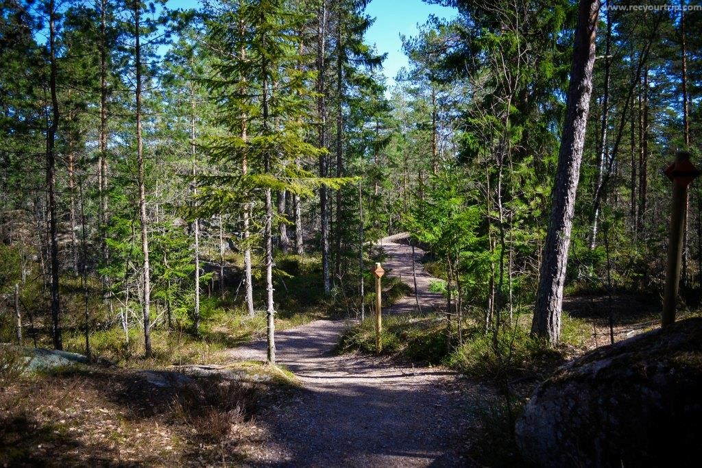 nuuksio national park escursione hiking natura finlandia