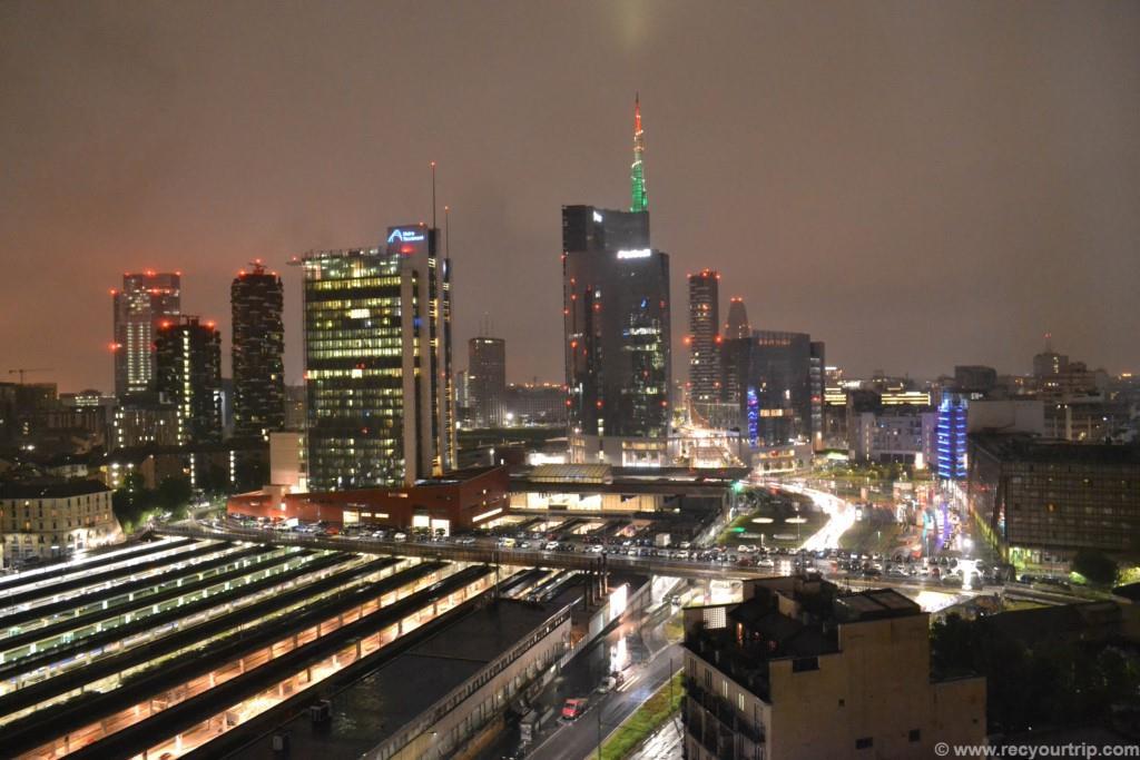 ac hotel milano a colori vista panoramica