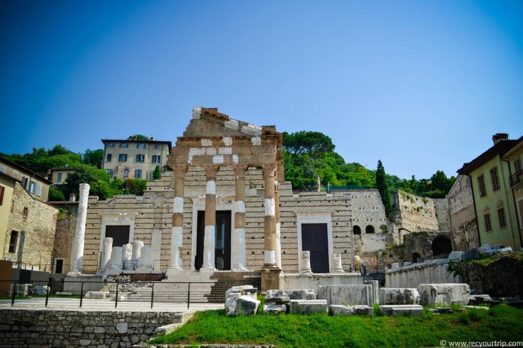 brescia cosa vedere: tempio capitolino capitolium