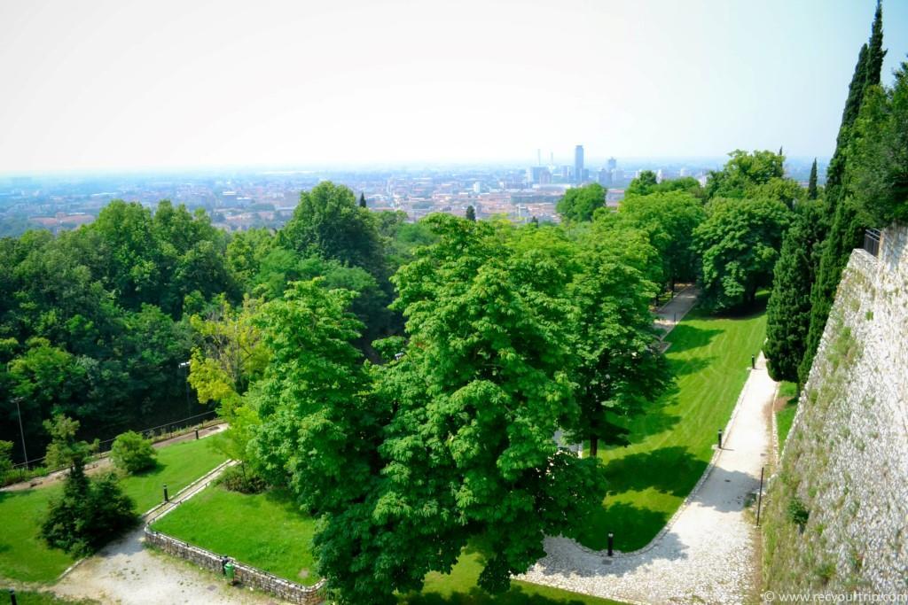 giardini castello di brescia