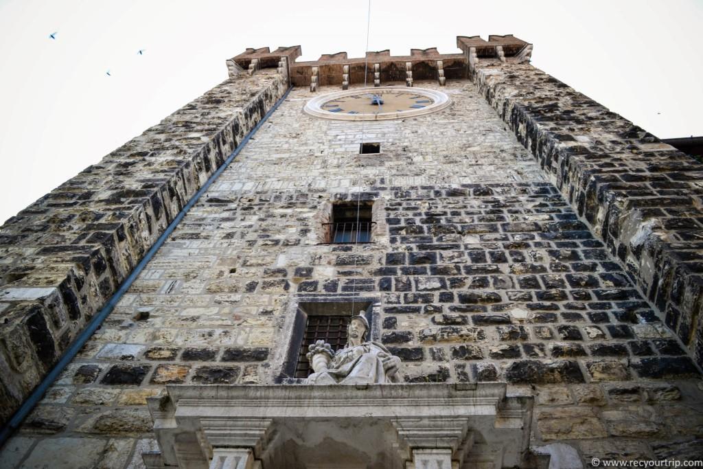 itinerario centro storico la torre della pallata