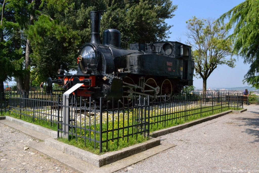 brescia castello locomotiva
