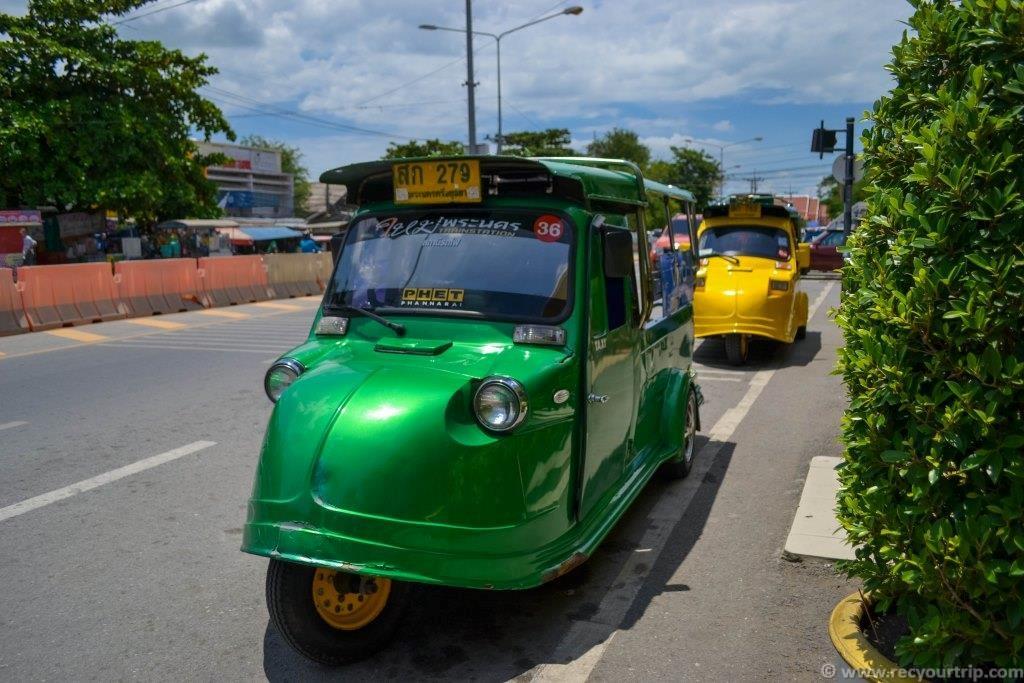 tuk tuk bangkok thai ayutthaya
