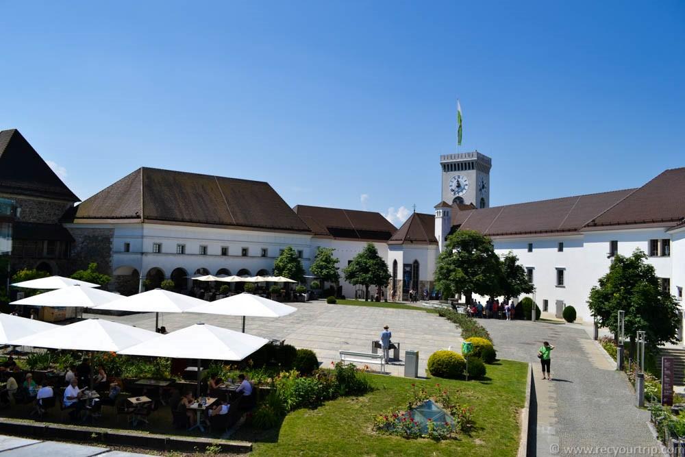 visitare vedere lubiana castello