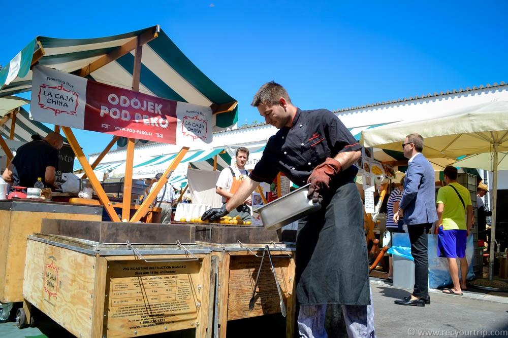 visitare vedere lubiana mercato centrale