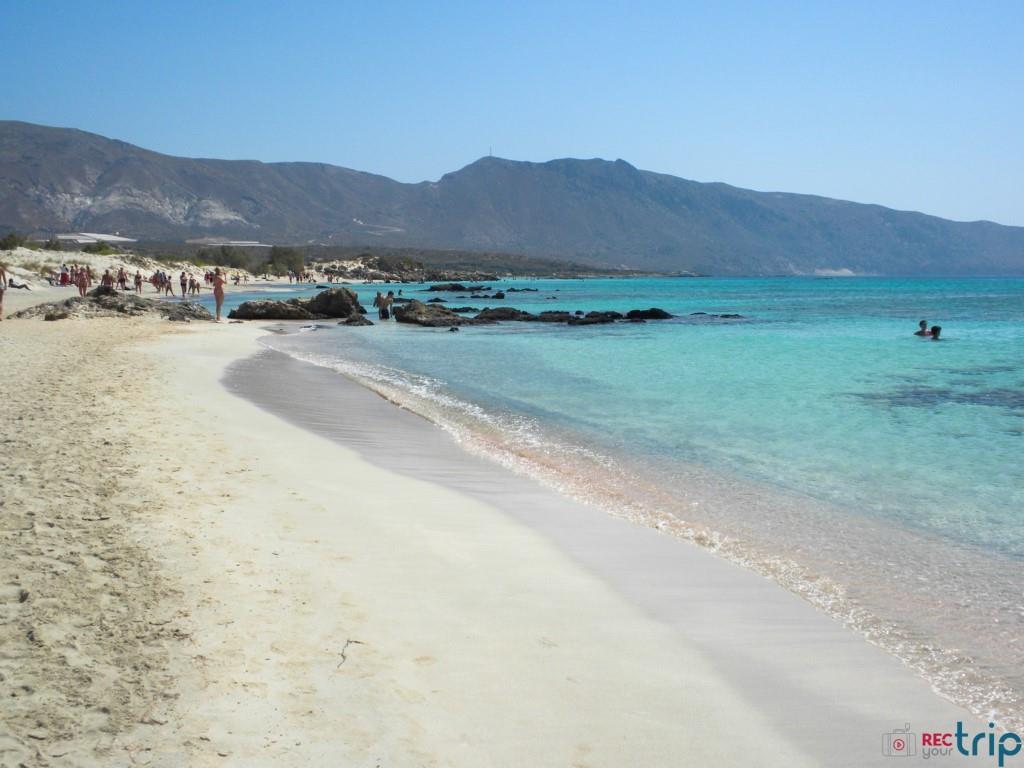 spiaggia di elafonissi creta grecia