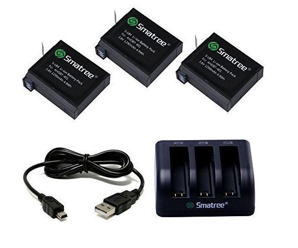 batterie come usare gopro