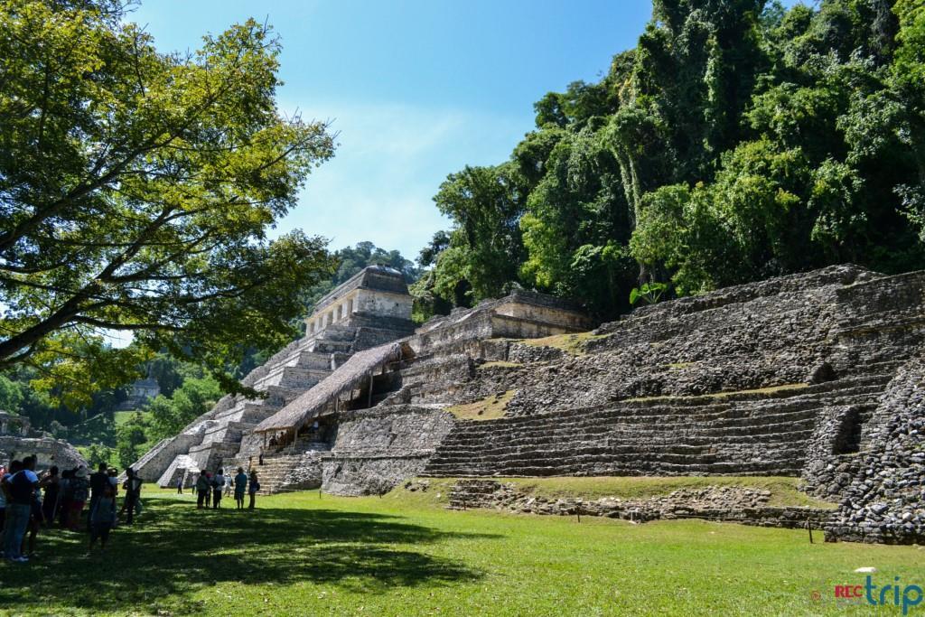 Palenque rovine siti maya le rovine del messico