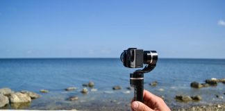stabilizzare video gopro gimbal tre assi