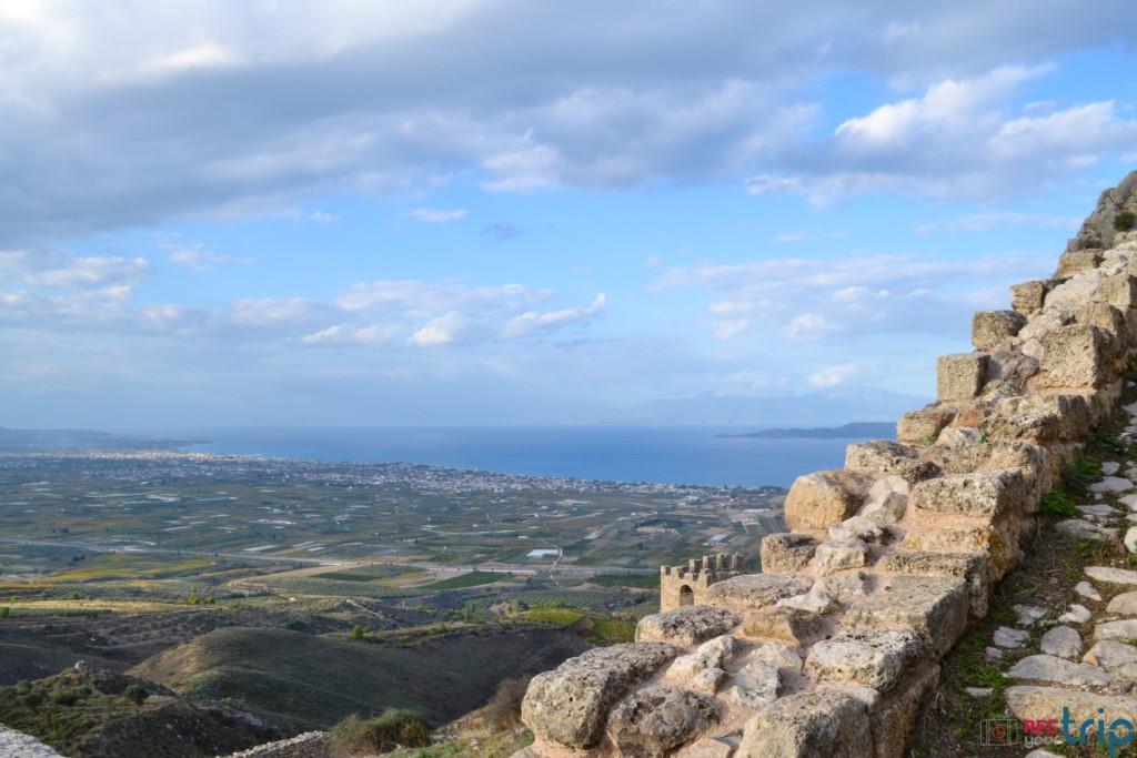 vista acrocorinto tour grecia continentale