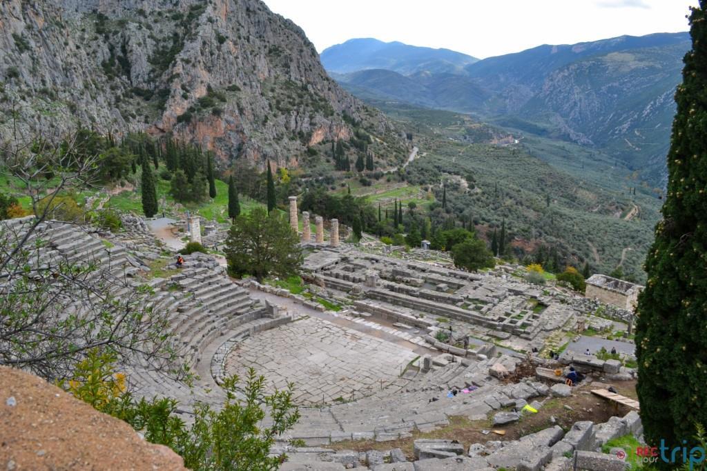 delfi sito archeologico grecia