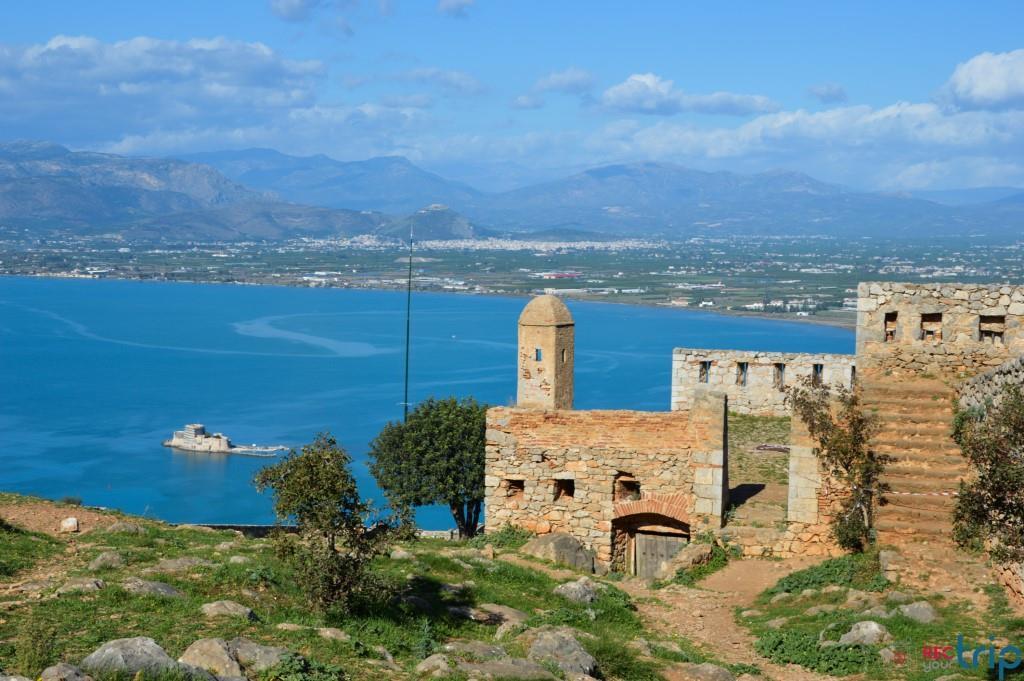 nauplia fortezza palamidi nafplio grecia