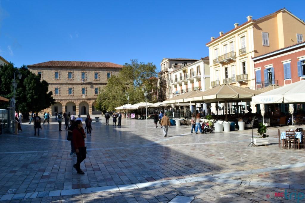 nauplia grecia nafplio piazza syntagma