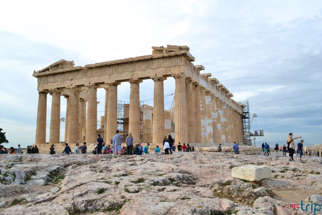 partenone atene acropoli tour grecia continentale