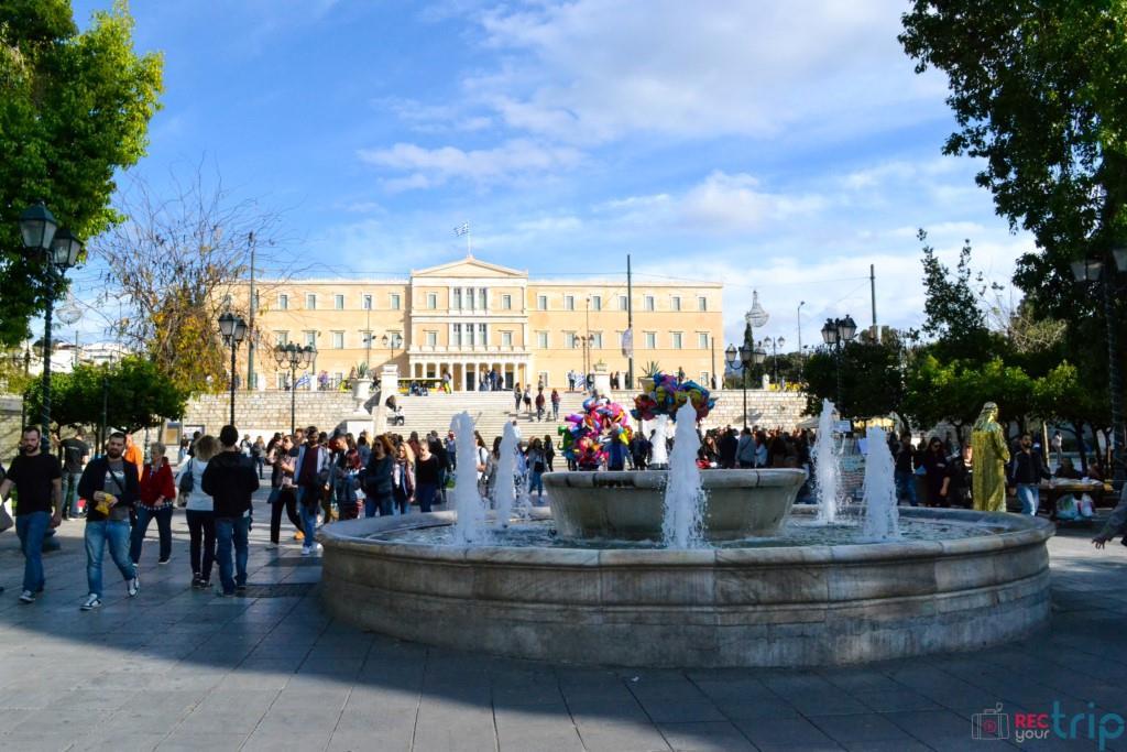 piazza syntagma atene vedere