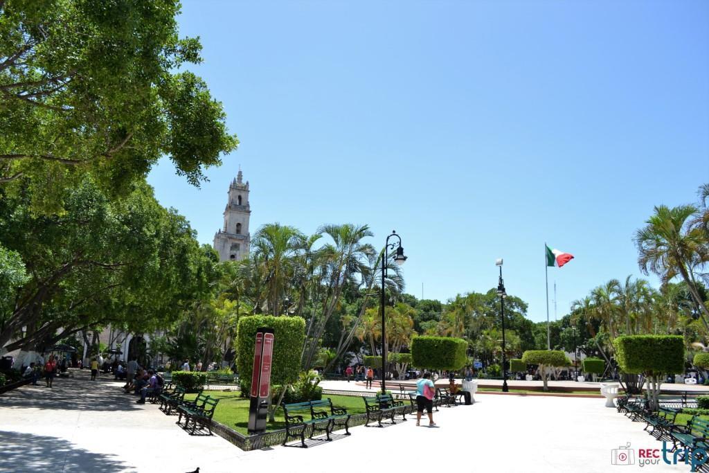 plaza grande piazza merida messico