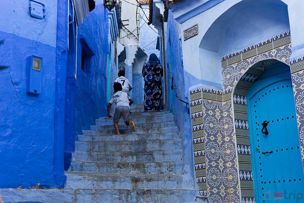 chefchaouen blu viaggio in marocco