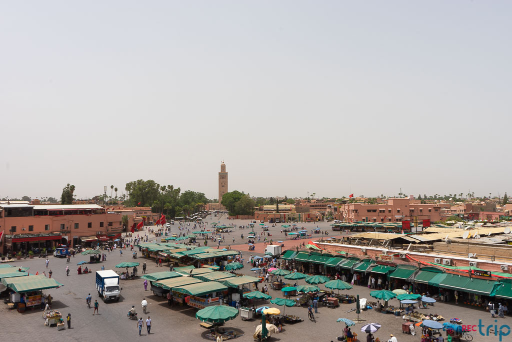 piazza jamaaa el fna viaggio in marocco
