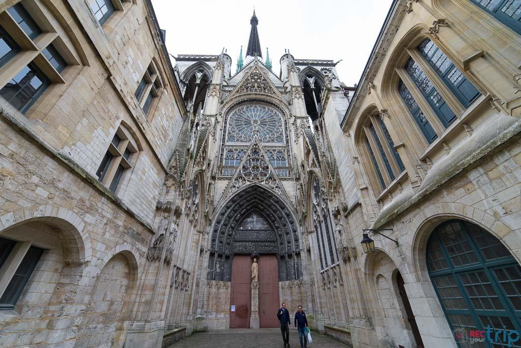 cattedrale di rouen cosa vedere