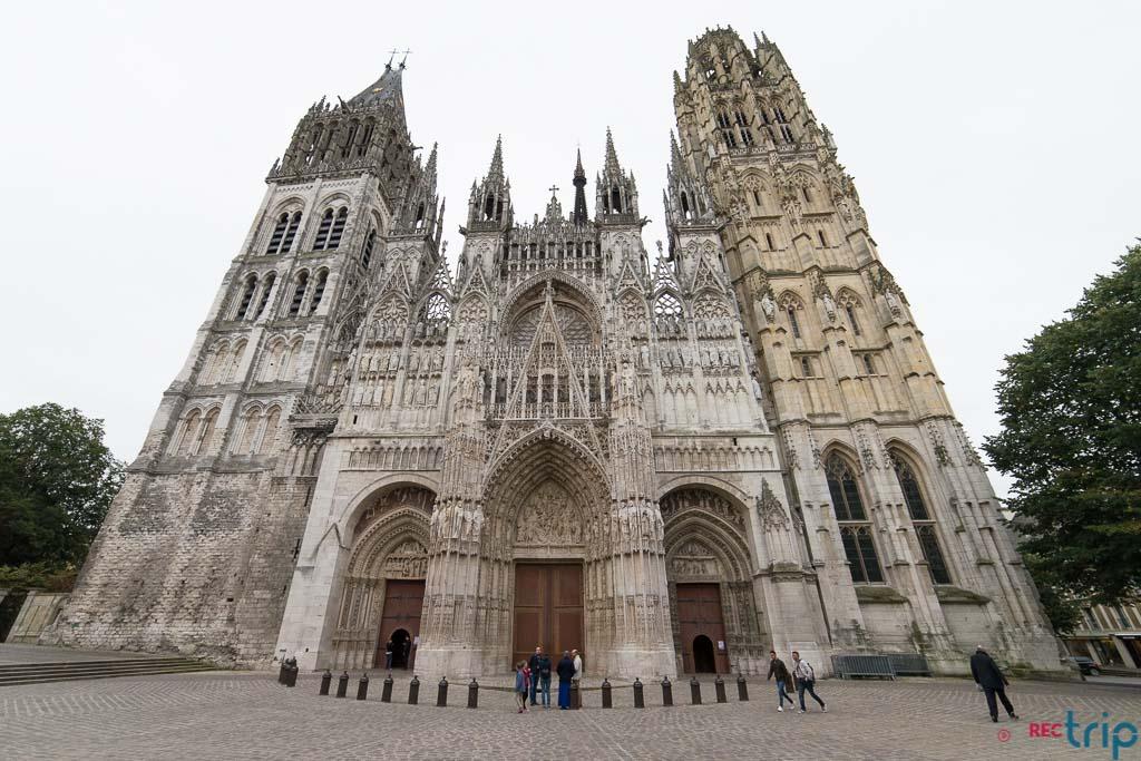 facciata principale cattedrale rouen