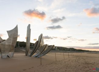 omaha beach monumento sbarco in normandia