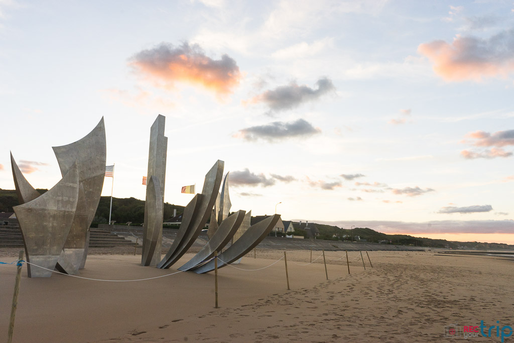 omaha beach monumento sbarco in normandia