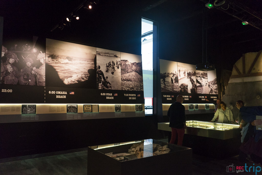 sezione speciale sbarco in Normandia memoriale caen