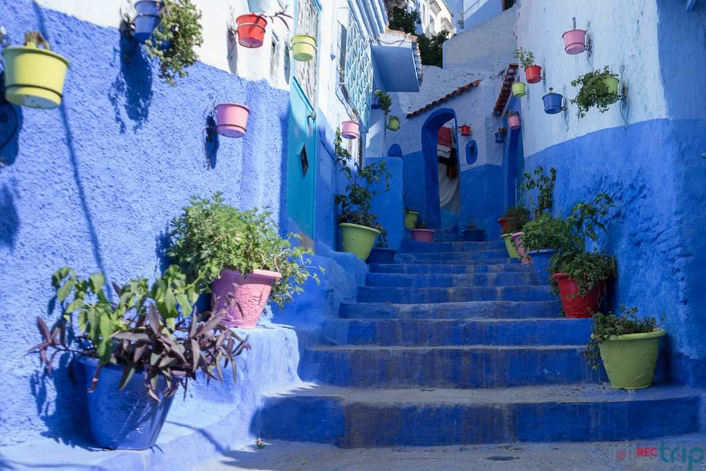 Case Blu Marocco : Chefchaouen immersi nel fascino della città blu del marocco