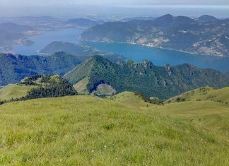 vista dal monte guglielmo brescia