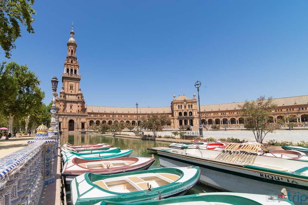 la piazza principale della splendida città di Siviglia