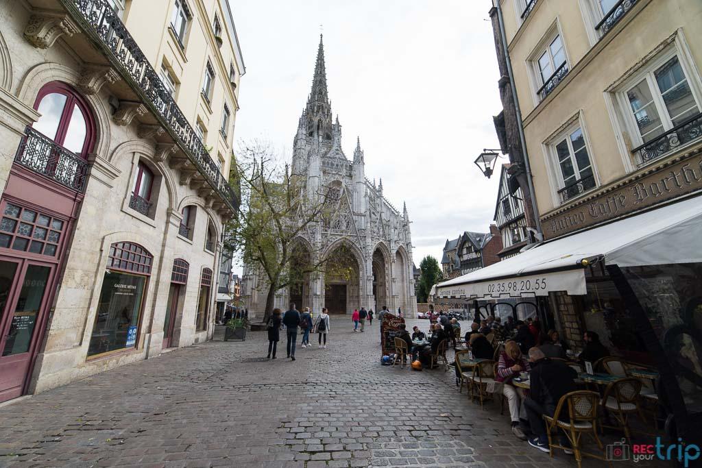 la chiesa di Rouen