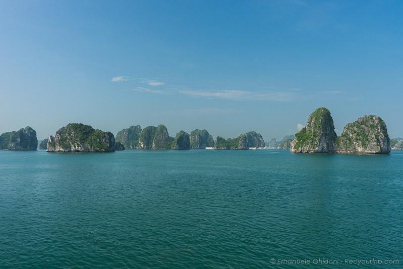la baia di halong itinerario vietnam