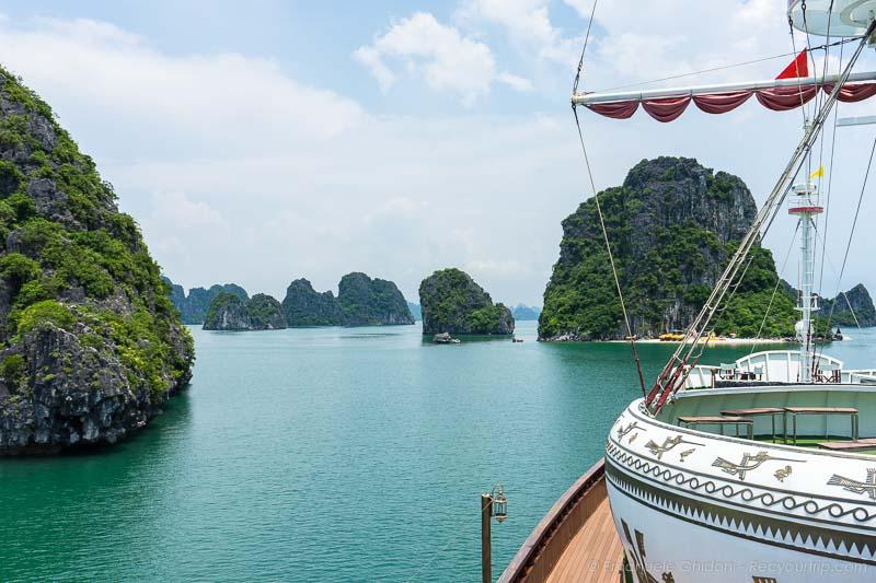 baia di halong itinerario vietnam