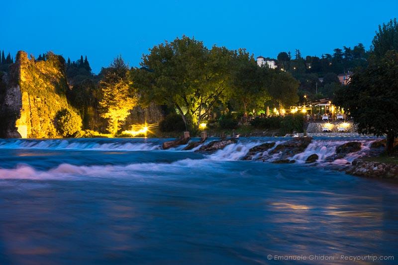Il fiume Mincio a Borghetto