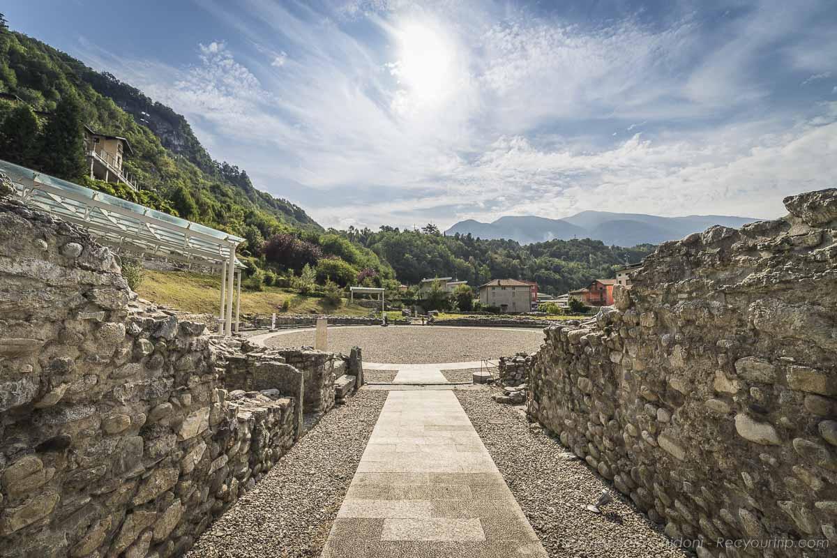 parco anfiteatro romano valle camonica recyourtrip