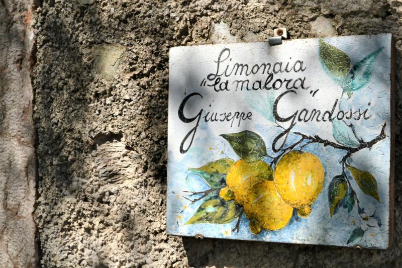 limonaie sul lago di garda